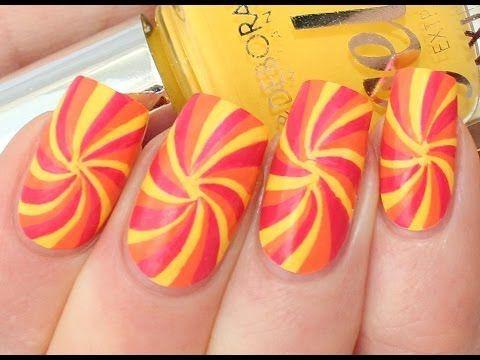 Summer Swirl Nail Art Tutorial (for Deborah Milano Beauty Club) - YouTube