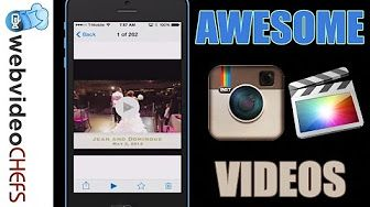 making instagram videos - YouTube