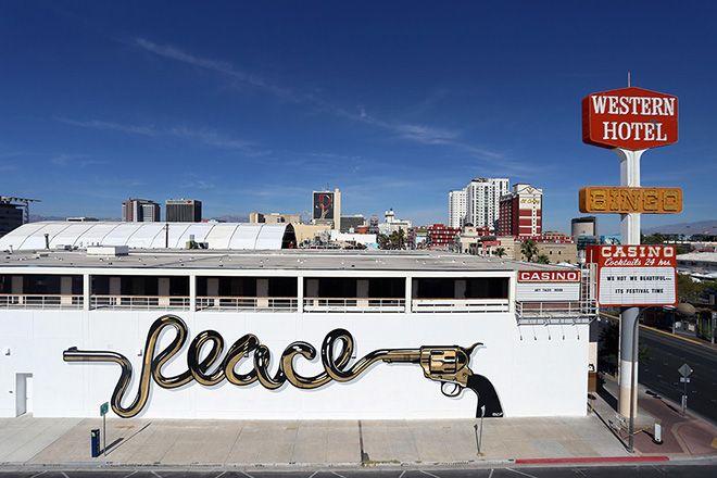 Dface - Life is beautiful Festival 2015 - Las Vegas Street art