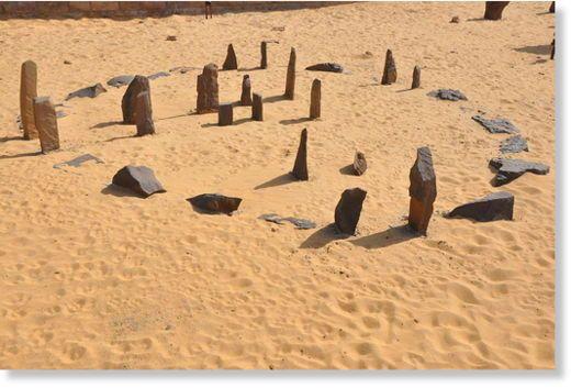 Nabta Playa - Egypte