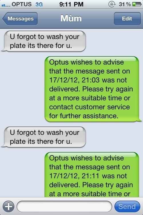 """The """"Delivery Failure"""". 