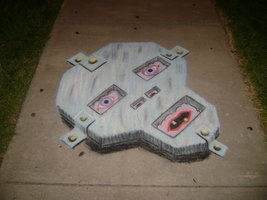 Face Plate on the Pavement