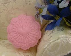 妮可R0270 DIY 心型花立体硅胶模具/立体矽胶模具/皂章/皂印/-tmall.com天猫