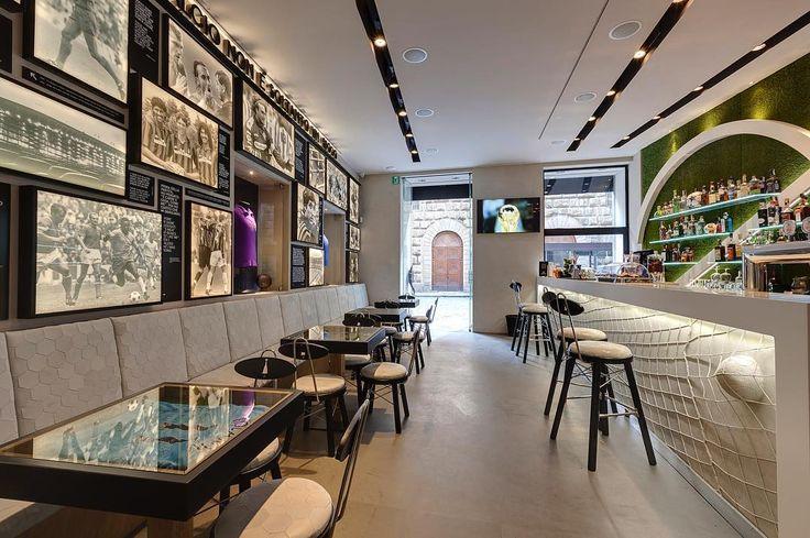 Interior design for #Fashionfoodballer by #Emporioorenga  All #furniture is custom made.  #interior #design #productdesign #inspiration #football #florence #italy #ffb #firenze #italia #calcio