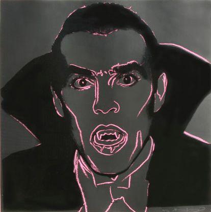 "Andy Warhol, ""Dracula"", 1981"