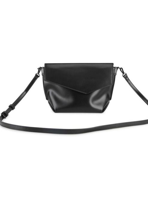 Lucy Crossbody Purse - Black | This adorable little purse features three compartments and a detachable shoulder strap! #torontofashion #CanadianDesigners #canadianfashion #canadianfashionblogger #canadiandesigner #canadianbrands #veganleather #veganfashion #crueltyfree #pixiemood #pixiemoodbag #vegantotes #backpack #veganpurse #purse #convertiblebag #crossbodybag #crossbodypurse #crossbodyshoulderbag #springfashion #torontostyle