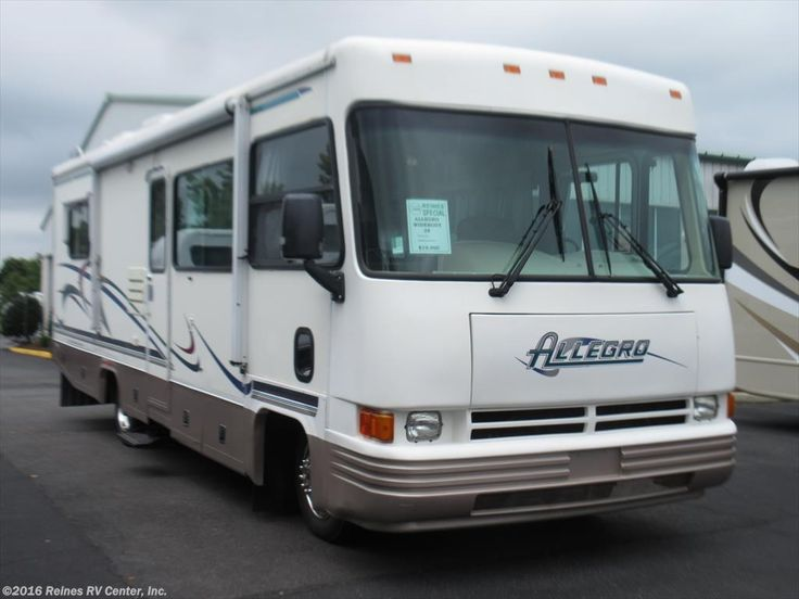 A1153b 1999 Tiffin Allegro Used Cl A Motorhome For In Manas Va