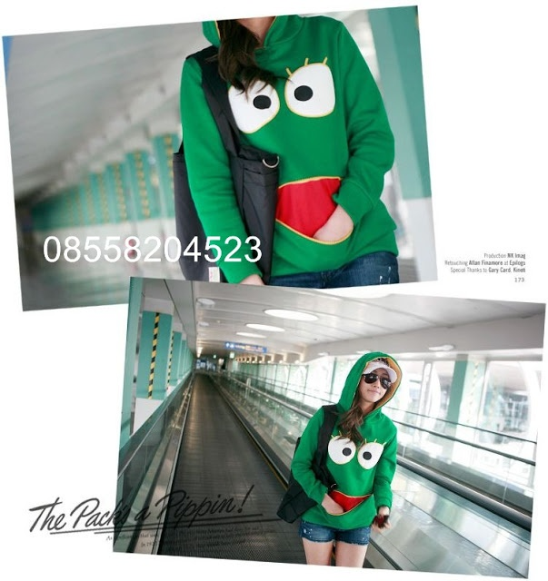 Froggy Jaket Hoodie Sweater - IDR 135.000,- | outfitorganizer.com 08558204523