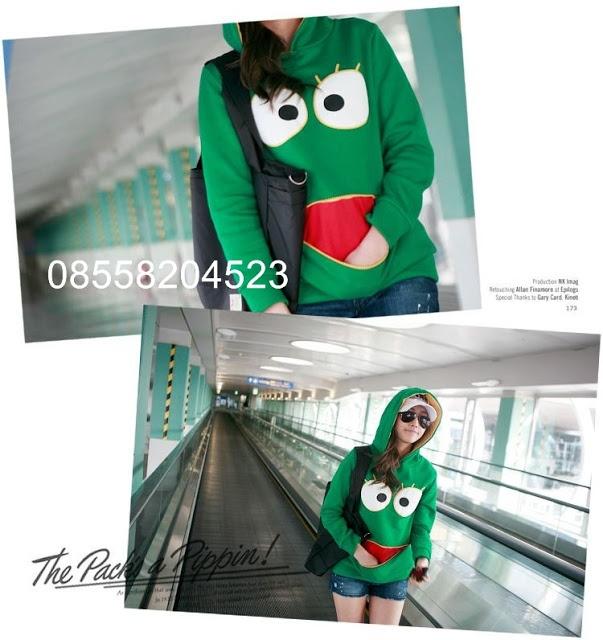 Froggy Jaket Hoodie Sweater - IDR 135.000,-   outfitorganizer.com 08558204523
