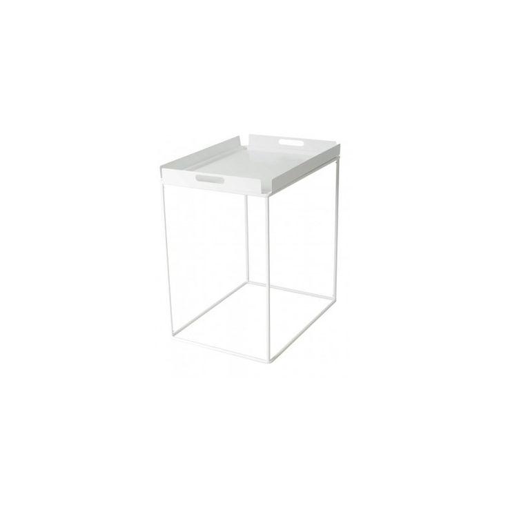 Konferenční stolek Istemo S, bílý