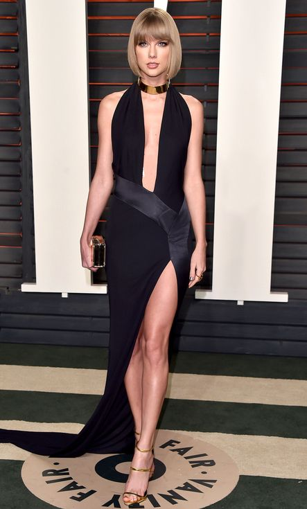 Oscars 2016: All the Dresses You Didn't See | People - Taylor Swift in Alexandre Vauthier Haute Couture