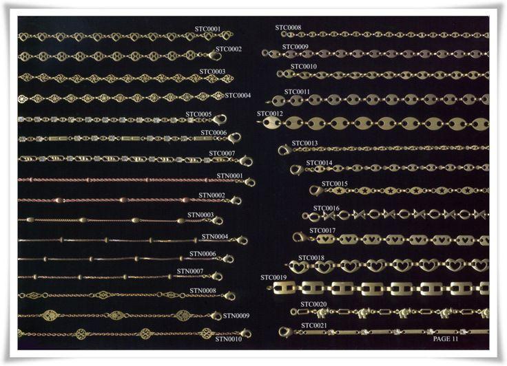 brass chain 8