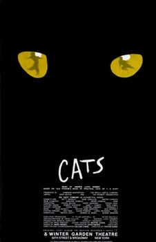 Cats the Musical Broadway Poster (Original) All I can say is there were a lot of drugs happening in the creation of this musical.
