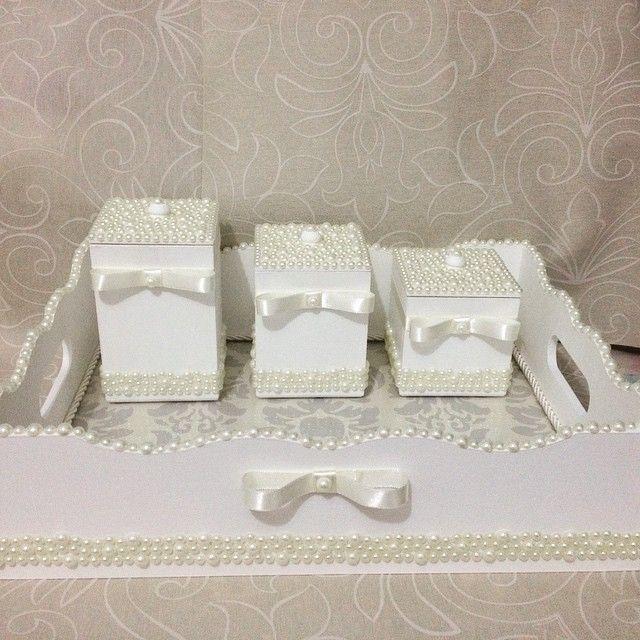 Olha que coisa mais linda que ficou o kit higiene da princesinha Rafaella @ferreirarochelle Que  - feito_a_mao_artesanatos