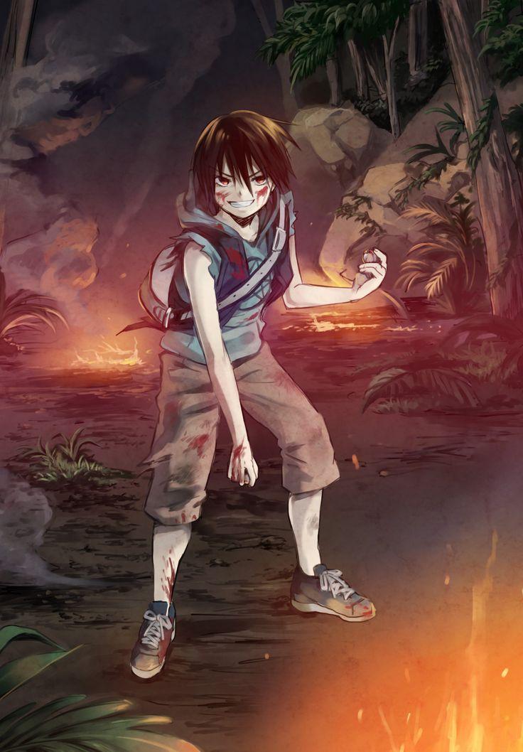 Kosuke Kira - Btooom,Anime