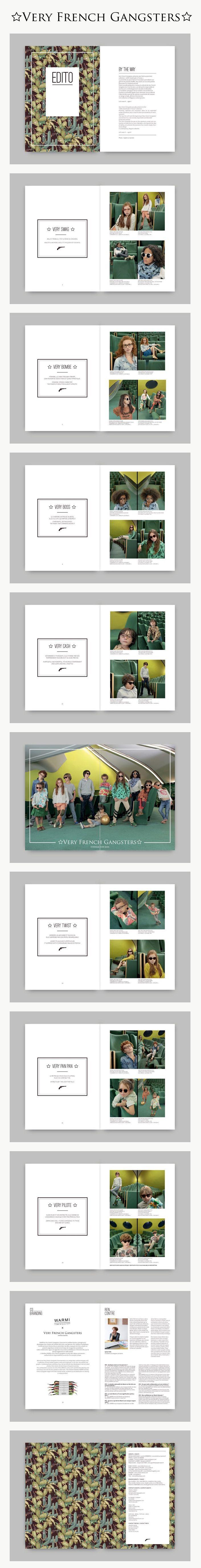 #veryfrenchgangsters #graphicdesign #miseenpage #lookbook