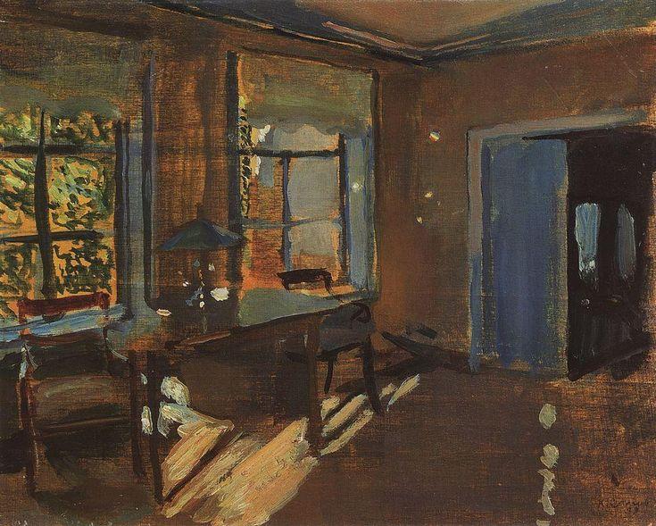 Интерьер на даче Павловых. 1899 |