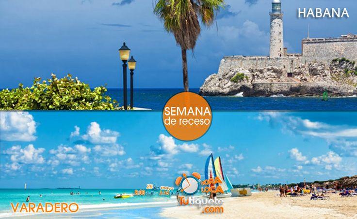 Aprovecha la semana de receso de Octubre y viaja a La Habana y al Varadero desde USD 1.270 --> Conoce la promoción http://goo.gl/WwqNZ6