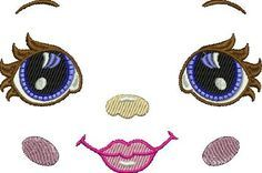 """Machine embroidery design """"Doll""""   free embroidery designs"""