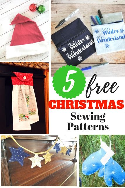 graphic relating to Free Printable Christmas Sewing Patterns identify 5 Absolutely free Printable Xmas Sewing Types Xmas