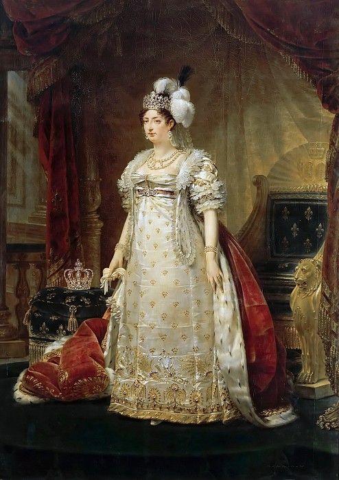 Гро, Антуан Жан -- Мария-Тереза-Шарлотта Французская, герцогиня ангулемская. Версальский дворец. Описание картины, скачать репродукцию.