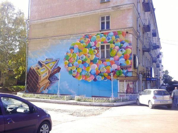 Граффити в Архангельске