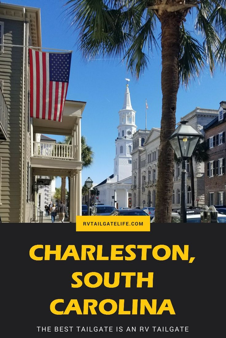Visit Charleston, South Carolina for history, food, and lots of fun! Family friendly destination. Great for RV travel and city destinations.