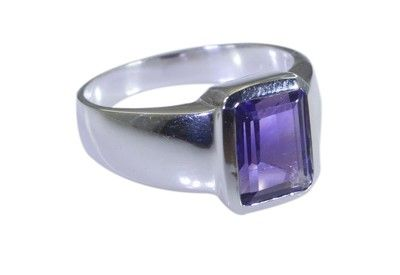 Riyo Purple 925 Sterling Silver Amethyst Ring Goodly Jewelry Supply Store Srame100 2201 Rings