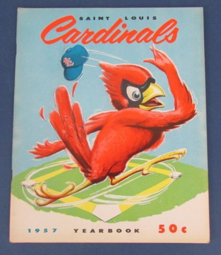 st louis cardinals quotes | Vintage 1957 St. Louis Cardinals Official Yearbook 123081 - New and ...