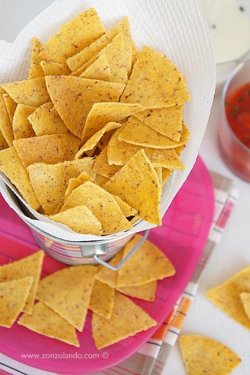 Tortillas chips... voglia di cibo messicano!!