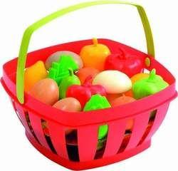 Ecoiffier Καλάθι με Φρούτα & Λαχανικά