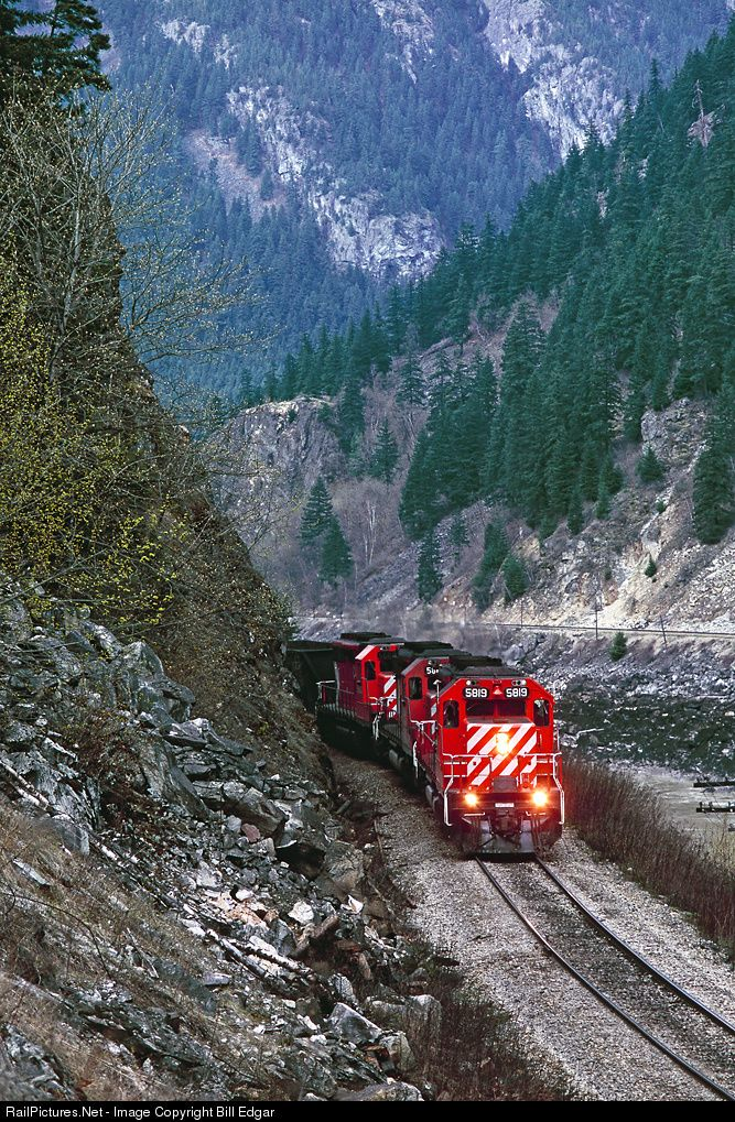 RailPictures.Net Photo: CP 5819 Canadian Pacific Railway EMD SD40-2 at Yale, British Columbia, Canada by Bill Edgar