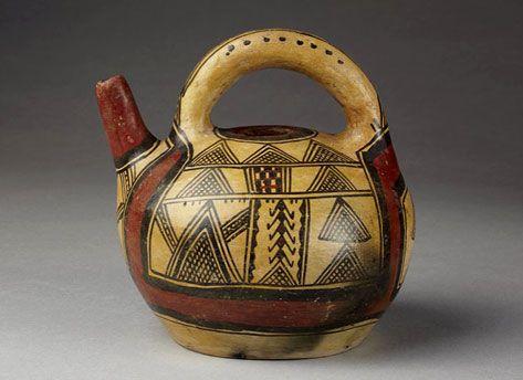 Algerian Teapot ( The Met Museum )