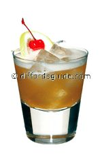 how to make: disaronno originale amaretto, freshly squeezed lemon juice, egg white, angostura bitters and garnish with lemon slice & cherry on stick (sail). ...