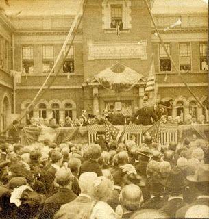 President Roosevelt at Millikin - 1903