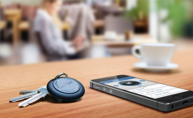Elgato Smart Key - Attach the Elgato to any belonging that you want to keep track of - keys, bags, luggage, camera, kids :) GetdatGadget.com