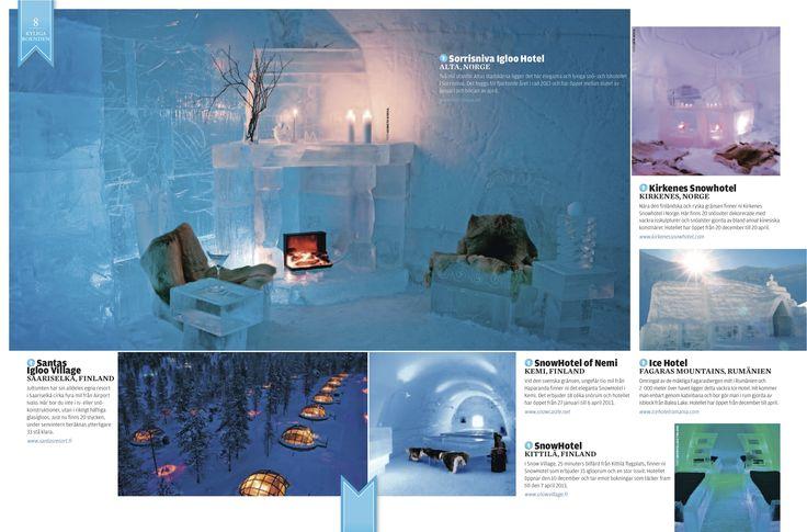 Escape 360 Ice Hotel Feature October 2012