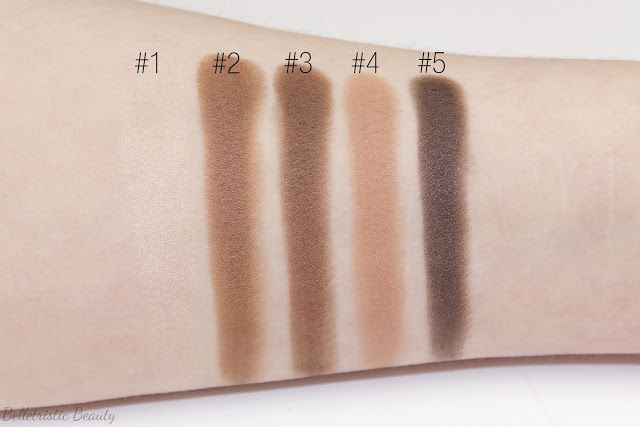 Ysl Fauves Eyeshadow Couture Palette Swatches Makeup