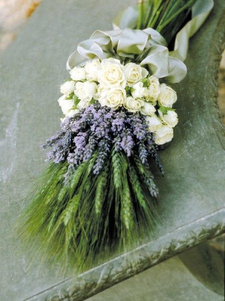 lavender and sage wedding bouquets | Herbal Wedding Bouquets | Creating a Wedding