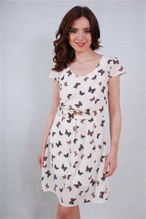 0094 DESENLİ GÜNLÜK ELBİSE 5125-KP | TREBIEN ǀ Kadın Giyim, Online Alışveriş #moda #fashion #dress #casual