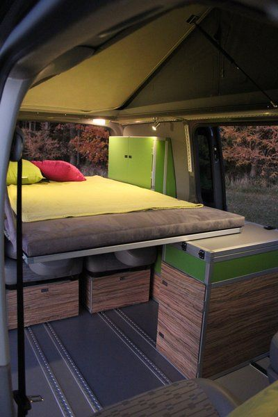 25 sch ne vw bus ausbau ideen auf pinterest vw. Black Bedroom Furniture Sets. Home Design Ideas