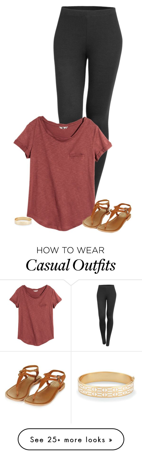 """Casual Lazy Cute"" by wafflez-cry-syrup on Polyvore featuring LE3NO, H&M, Topshop and Stella & Dot"