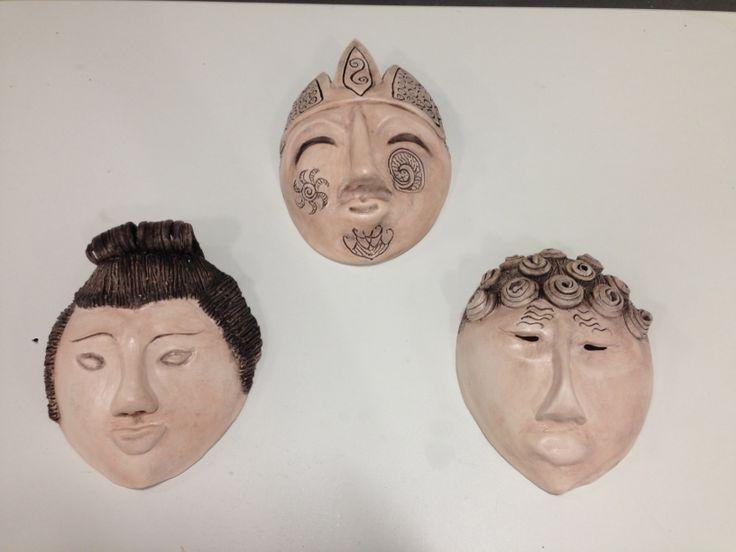 Handmade masks - drape mould