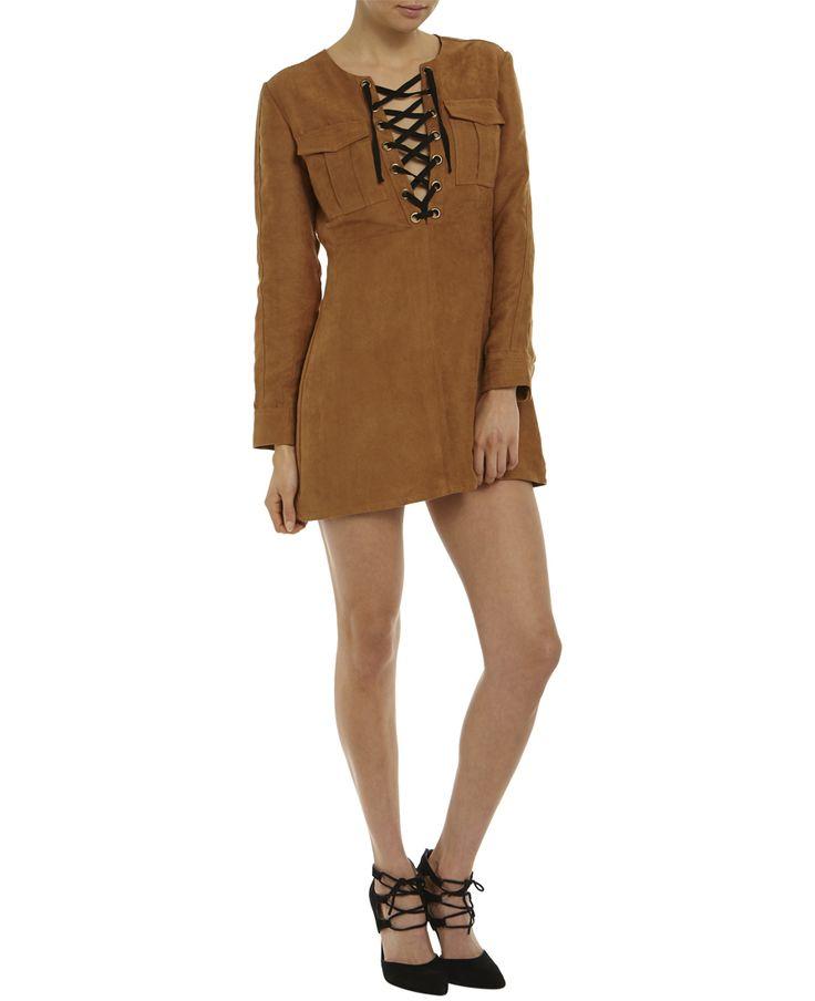 Suedette Dress - Bardot