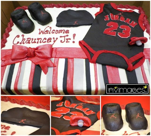 jordan jumpman baby shower party ideas themed baby showers baby shower