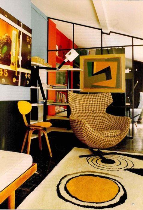 277 best 70s interiors images on pinterest 70s decor for Modern retro interior