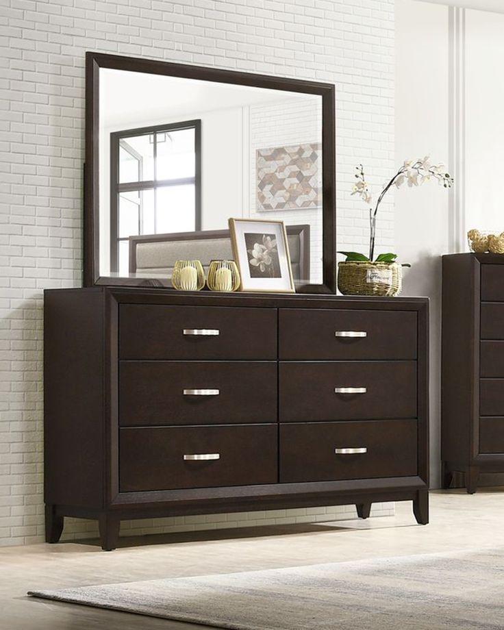 Tremont Dresser and Mirror in 2021 | Modern bedroom set ...
