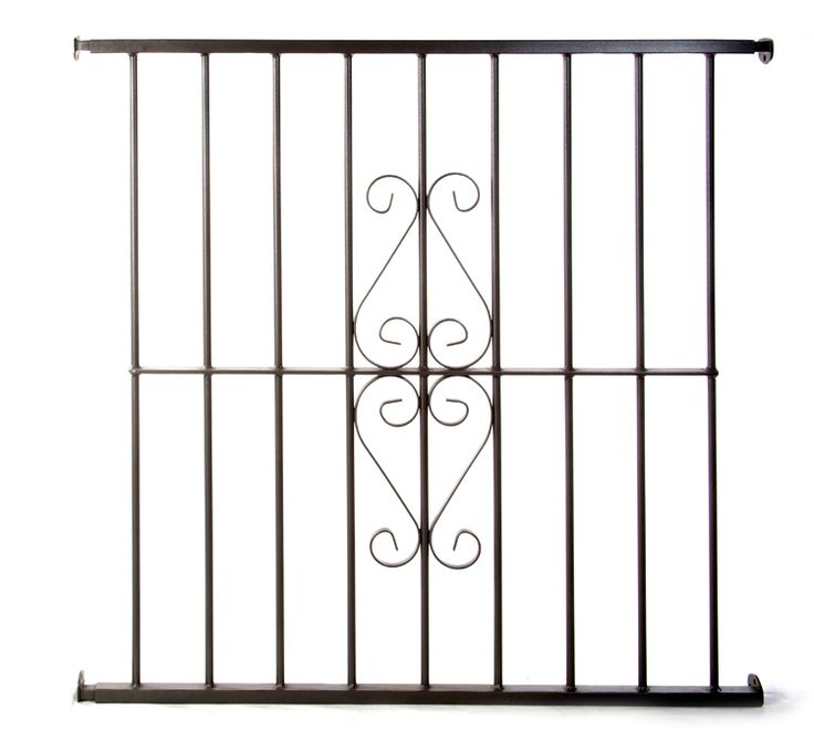 Las 25 mejores ideas sobre rejas de seguridad en for Modelos de puertas para casas de hierro