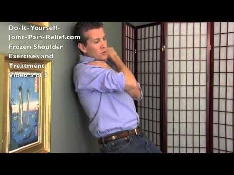 Frozen Shoulder Exercises and Treatment - Video 3 of 5
