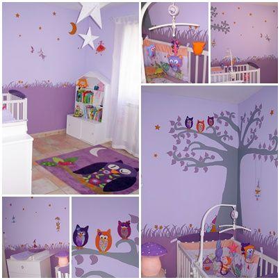 17 meilleures id es propos de chambre mauve sur pinterest palettes de couleurs mauve et for Chambre grise et mauve bebe
